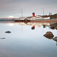 Buy canvas prints of Loch Lomond shores by Scottish Landscape and Wildlife Canvas Print