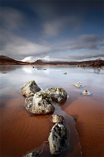 Lochan na h-Achlaise Canvas Print by Scottish Landscape and Wildlife Canvas Print