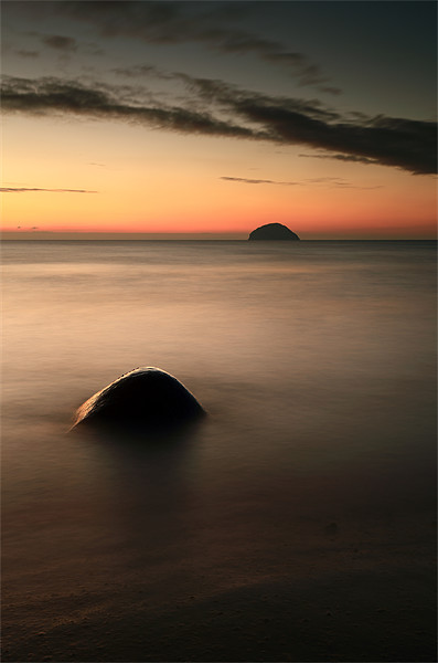 Ailsa Craig Sunset Canvas Print by Scottish Landscape and Wildlife Canvas Print