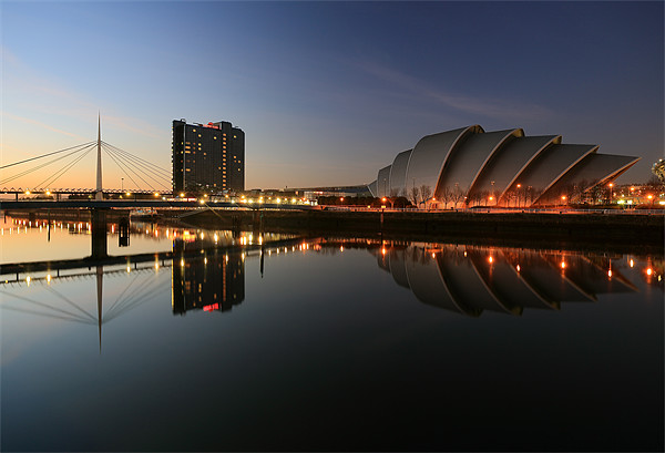 Glasgow Clyde Canvas print by Scottish Landscape and Wildlife Canvas Print