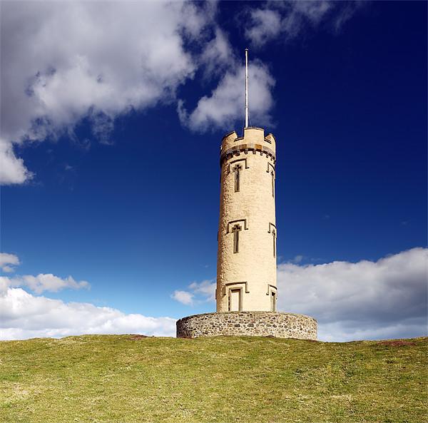 Binns Tower Canvas print by Scottish Landscape and Wildlife Canvas Print