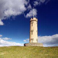 Buy canvas prints of Binns Tower by Scottish Landscape and Wildlife Canvas Print