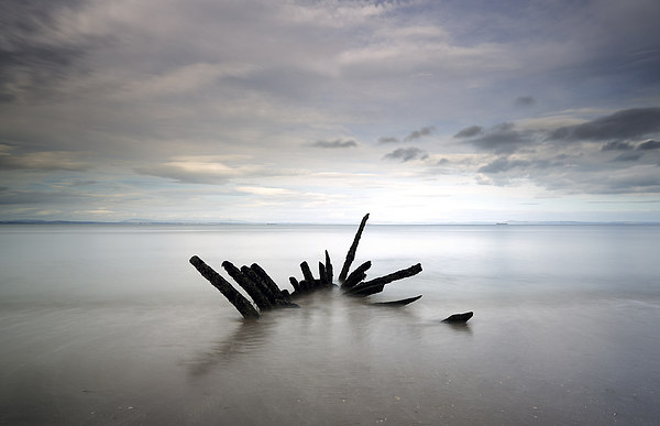 Shipwreck Canvas Print by Scottish Landscape and Wildlife Canvas Print
