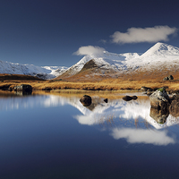 Buy canvas prints of Loch Ba by Scottish Landscape and Wildlife Canvas Print