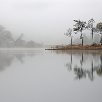 Buy canvas prints of Loch Ard Reflections by Scottish Landscape and Wildlife Canvas Print