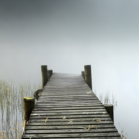 Buy canvas prints of Loch Ard Jetty by Scottish Landscape and Wildlife Canvas Print