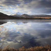 Buy canvas prints of Lochan na h-Achlaise by Scottish Landscape and Wildlife Canvas Print