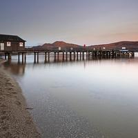 Buy canvas prints of Loch Lomond Pier by Scottish Landscape and Wildlife Canvas Print