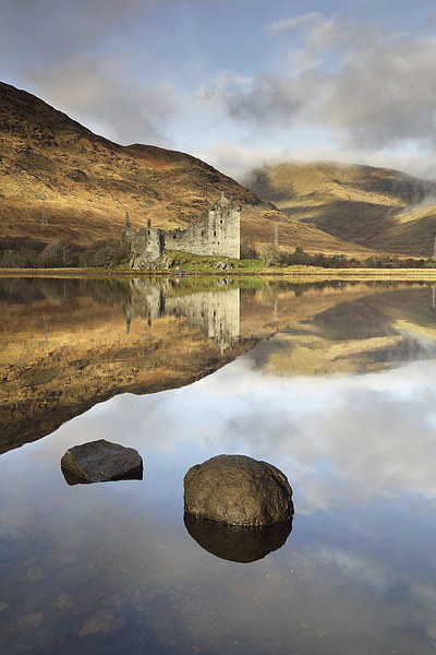 Kilchurn Castle Canvas Print by Scottish Landscape and Wildlife Canvas Print