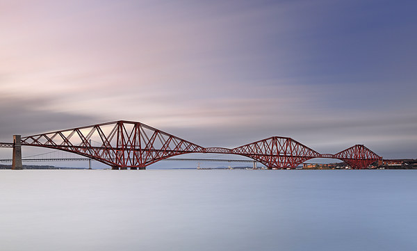 Forth Railway Bridge Canvas Print by Scottish Landscape and Wildlife Canvas Print