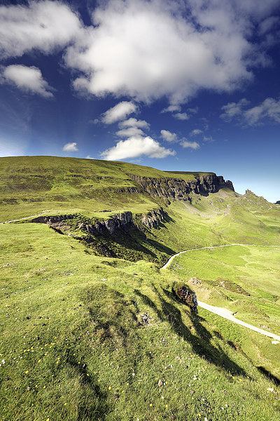 The Quiraing Canvas Print by Scottish Landscape and Wildlife Canvas Print