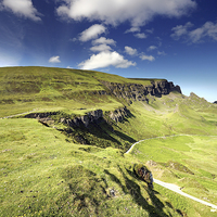 Buy canvas prints of The Quiraing by Scottish Landscape and Wildlife Canvas Print