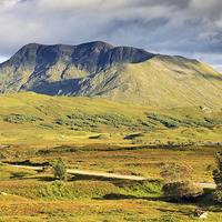 Buy canvas prints of  Rannoch moor by Scottish Landscape and Wildlife Canvas Print