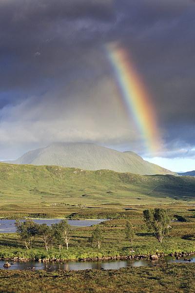 Glencoe Rainbow Canvas Print by Scottish Landscape and Wildlife Canvas Print