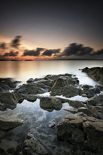 Morar Sunset Canvas Print by Scottish Landscape and Wildlife Canvas Print