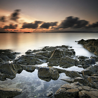 Buy canvas prints of Morar Sunset by Scottish Landscape and Wildlife Canvas Print