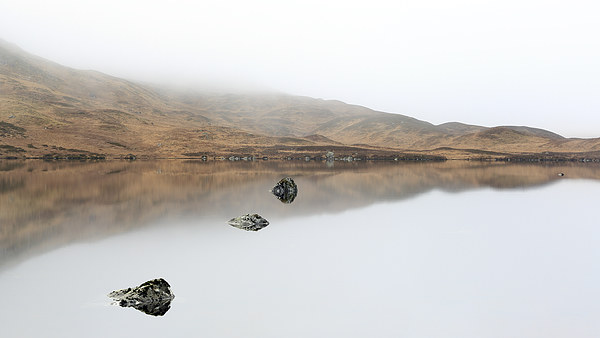 Glencoe Mist Canvas Print by Scottish Landscape and Wildlife Canvas Print
