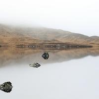Buy canvas prints of Glencoe Mist by Scottish Landscape and Wildlife Canvas Print