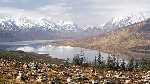 Highland View Canvas Print by Scottish Landscape and Wildlife Canvas Print