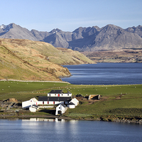 Buy canvas prints of Gesto Bay by Scottish Landscape and Wildlife Canvas Print