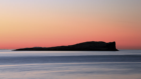 Staffin Island Sunset Canvas Print by Scottish Landscape and Wildlife Canvas Print