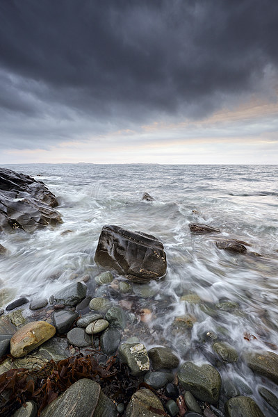 Kintyre Seascape Canvas Print by Scottish Landscape and Wildlife Canvas Print