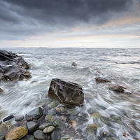 Buy canvas prints of  Kintyre Seascape by Scottish Landscape and Wildlife Canvas Print