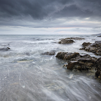 Buy canvas prints of West coast seascape by Scottish Landscape and Wildlife Canvas Print