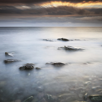 Buy canvas prints of  Kintyre Sunset by Scottish Landscape and Wildlife Canvas Print