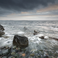 Buy canvas prints of  Scottish West Coast Seascape by Scottish Landscape and Wildlife Canvas Print