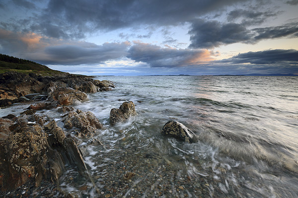 Ronachan Sunset Canvas Print by Scottish Landscape and Wildlife Canvas Print