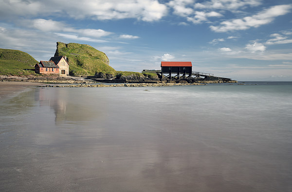 Boathouse Rock Canvas Print by Scottish Landscape and Wildlife Canvas Print