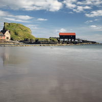 Buy canvas prints of  Boathouse Rock by Scottish Landscape and Wildlife Canvas Print