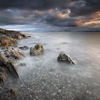 Buy canvas prints of Ronachan Rocks by Scottish Landscape and Wildlife Canvas Print