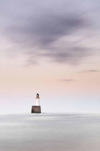 North Sea Lighthouse Canvas Print by Scottish Landscape and Wildlife Canvas Print