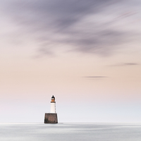 Buy canvas prints of  North Sea Lighthouse by Scottish Landscape and Wildlife Canvas Print