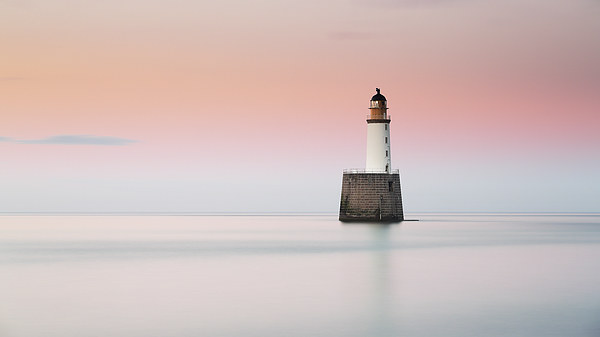 Lighthouse Hues Canvas Print by Scottish Landscape and Wildlife Canvas Print