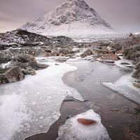 Buy canvas prints of Buachaille Etive Mor Winter  by Grant Glendinning