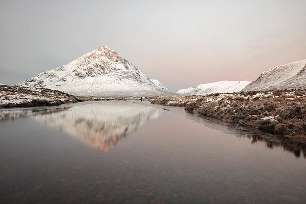 Winter Morning Glow  Canvas Print by Grant Glendinning