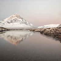 Buy canvas prints of Winter Morning Glow  by Grant Glendinning