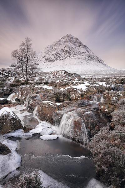 Glencoe Winter Landscape Canvas Print by Grant Glendinning
