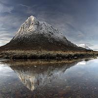 Buy canvas prints of Mountain Reflection Glencoe by Grant Glendinning