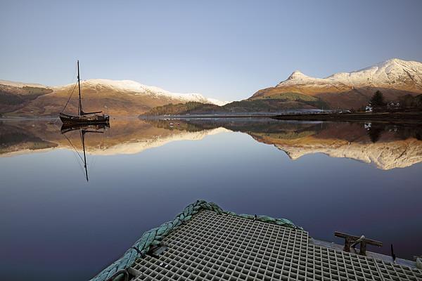 Loch Leven Reflection Canvas Print by Grant Glendinning