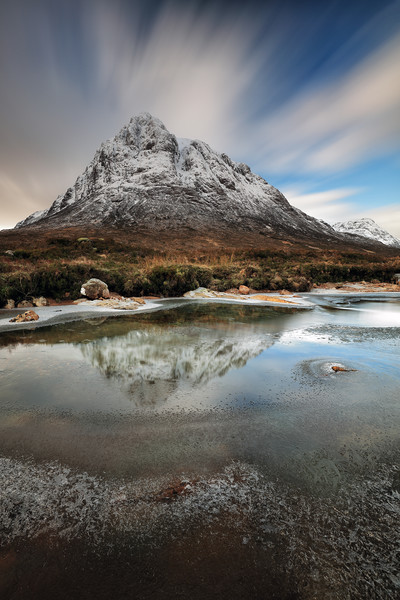 Buachaille reflection Canvas Print by Grant Glendinning