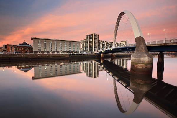 River Reflection Canvas Print by Grant Glendinning