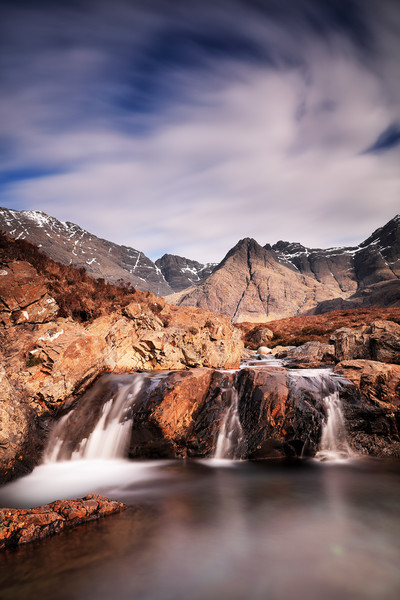 Ghost of the Fairy Pools Canvas Print by Grant Glendinning