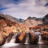 Buy canvas prints of Ghost of the Fairy Pools by Grant Glendinning