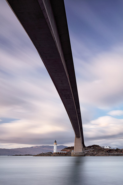 Neath the Skye Bridge Canvas Print by Grant Glendinning