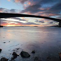 Buy canvas prints of Isle of Skye Bridge Sunset by Grant Glendinning