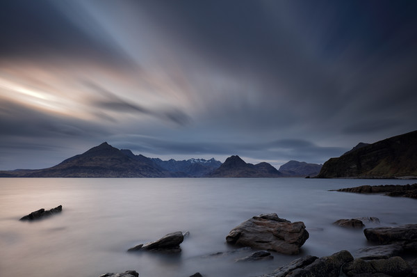 Elgol Isle of Skye Canvas Print by Grant Glendinning